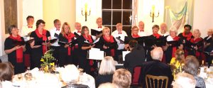 Members of the Chorale at Croome Court