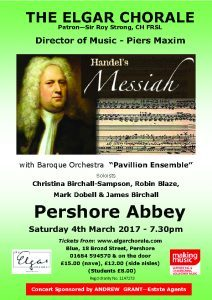 Messiah & The Elgar Chorale