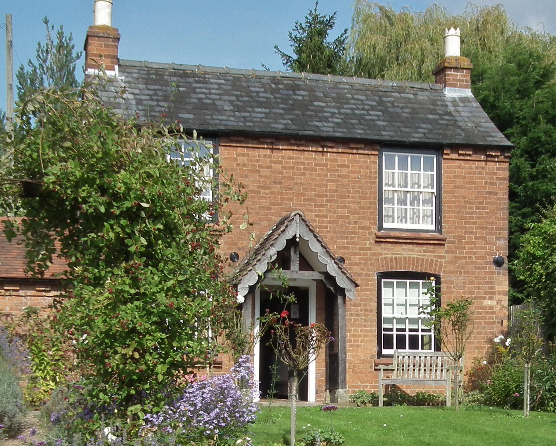 Photo of Elgar's Birthplace in Worcestershire